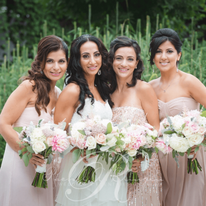 Original bridal party bouquets Rachel A. Clingen wedding design decor flowers Toronto