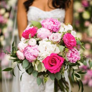 Rich bridal bouquet by Rachel A. Clingen Toronto Wedding Flowers
