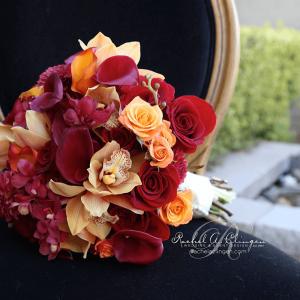 Rustic autumn tones Toronto Wedding Flowers