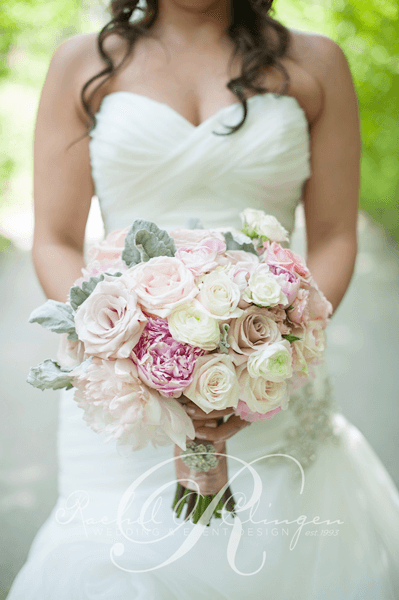 Stunning Elegant Bridal Bouquet Wedding Decor Toronto