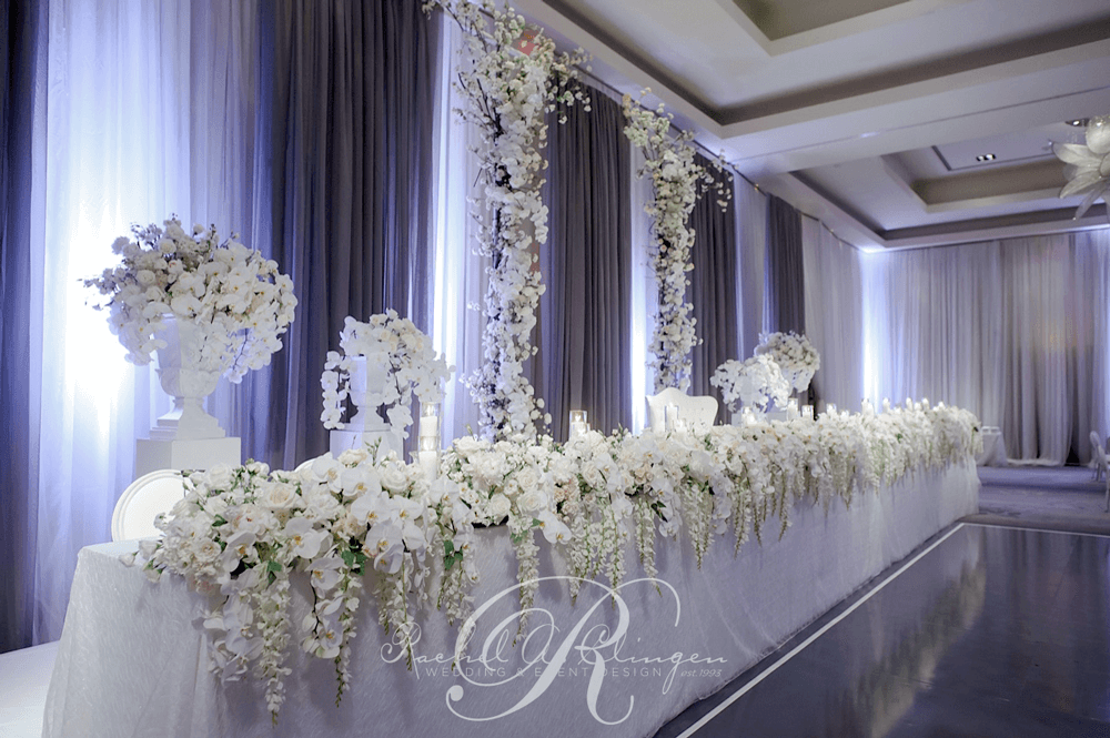 Marisa rob a ritz carleton toronto wedding for White wedding table decorations