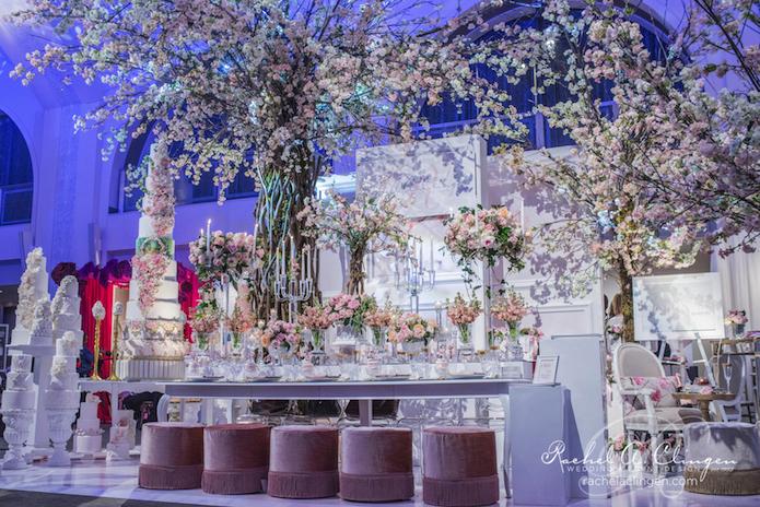 Cherry Blossom Booth Wedluxe Show 2015 Rachel Clingen