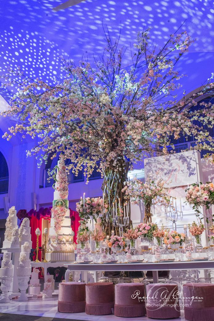 Cherry Blossom Tree Wedluxe Show Rachel A. Clingen