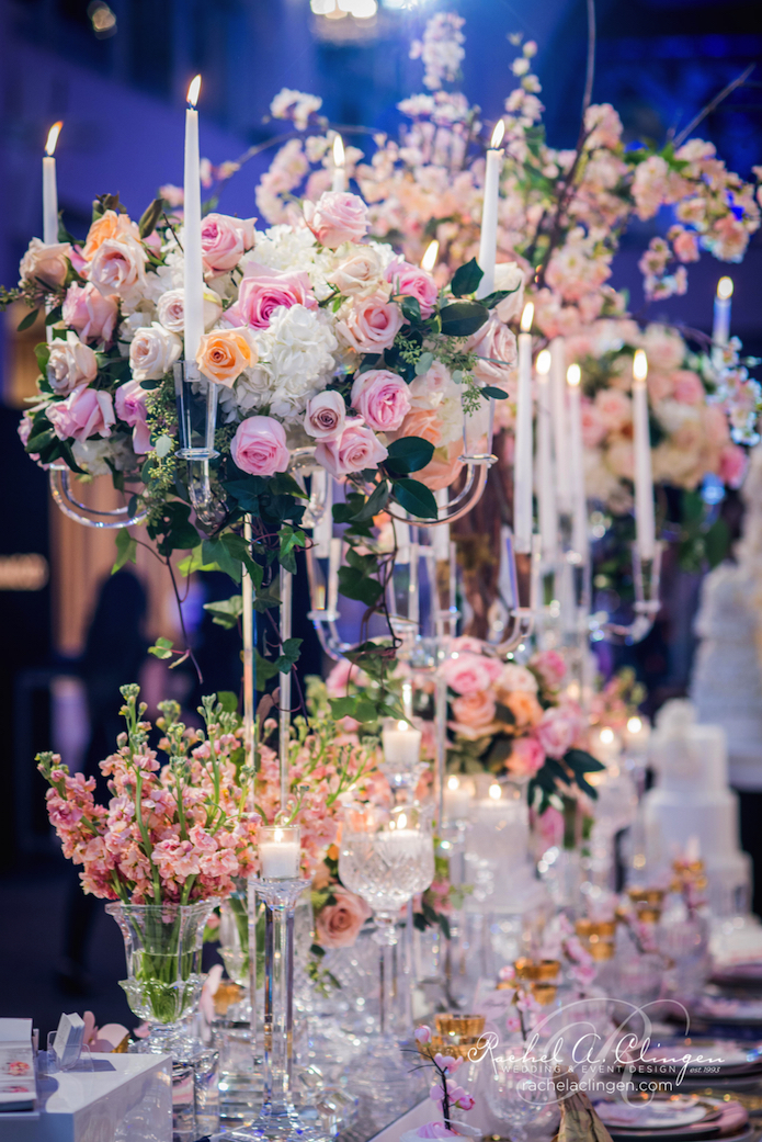 Head Table Flowers Rachel A.Clingen Wedluxe