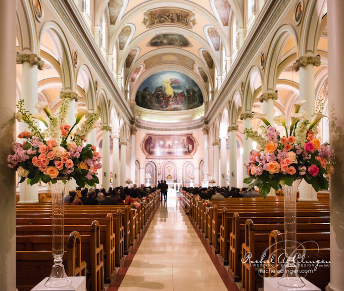 Flowers For Church Wedding Ceremony: Wedding Decor Toronto Rachel A. Clingen Wedding