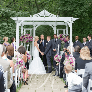 Ancaster Mill Wedding Ceremony Flowers