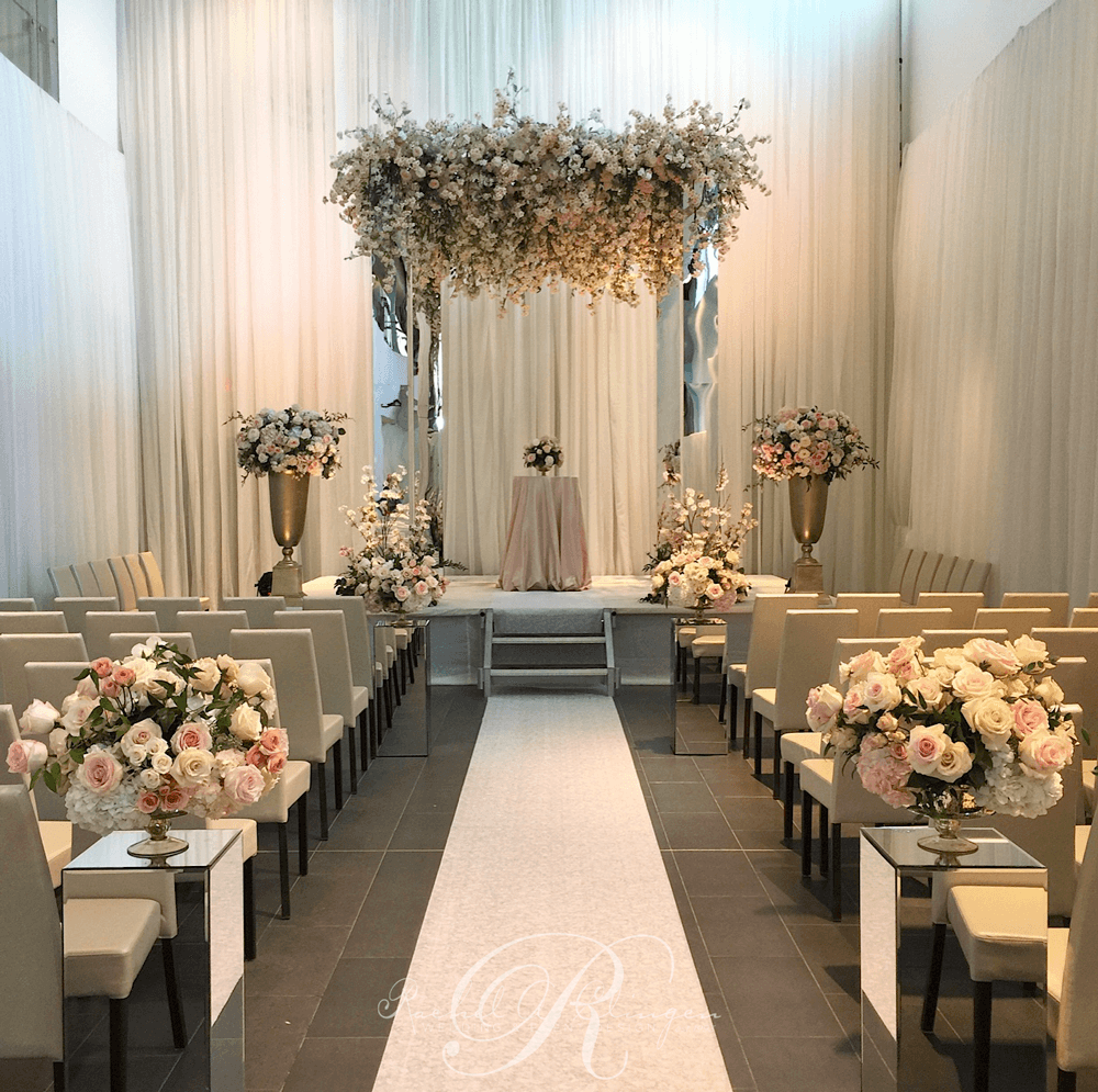 The Ceremony Decor: Wedding Decor Toronto Rachel A. Clingen
