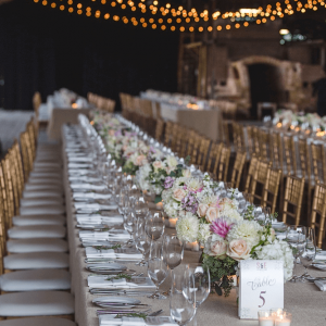 Head table Brickworks weddings Toronto
