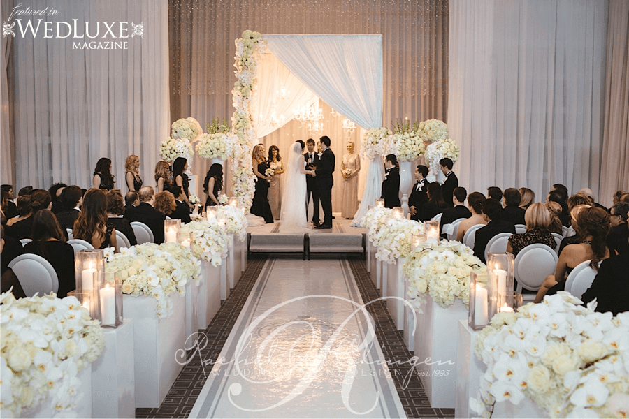 Ceremonies wedding decor toronto rachel a clingen wedding event luxurious four seasons weddings toronto junglespirit Image collections