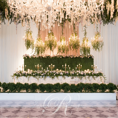 Luxury Weddings Toronto Chandeliers