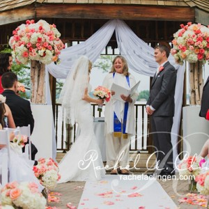 Beautiful cottage wedding at Muskoka's Taboo Resort