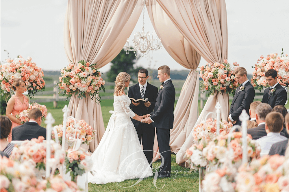 Outdoor Wedding Ceremony: Wedding Decor Toronto Rachel A. Clingen