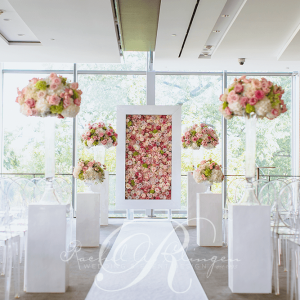 Pink Floral Wedding Royal Conservatory of Music Toronto