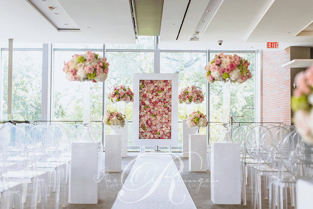 Sophisticated Contemporary Wedding Ceremony In: Wedding Decor Toronto Rachel A. Clingen