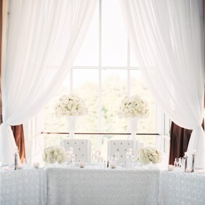 Pure White Wedding Backdrops Toronto