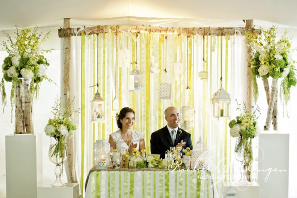 stunning wedding backdrop by rachel a clingen wedding