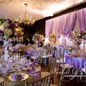 Rich wedding backdrops and backlighting by Rachel A. Clingen Toronto Wedding Design