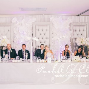 Toronto Wedding Backdrops by Rachel A. Clingen
