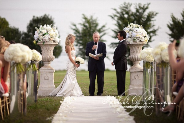Outdoor Wedding Flowers For Toronto Wedding Ceremony