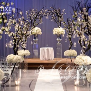Cherry blossom path wedding flowers Torontoc