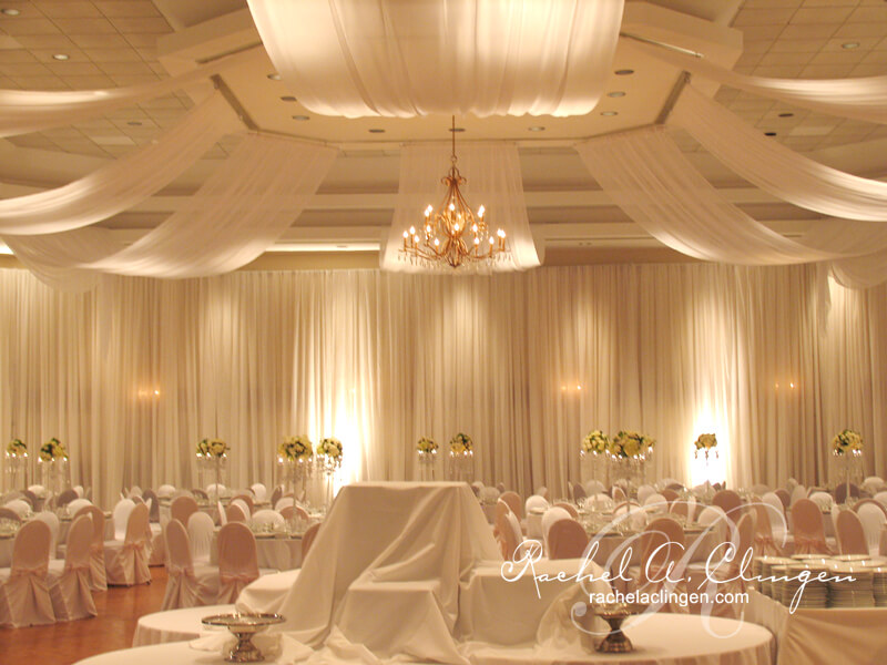 Draping wedding decor toronto rachel a clingen wedding event room junglespirit Image collections