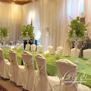 Space altering full wall draping by Rachel A. Clingen Toronto Weddings