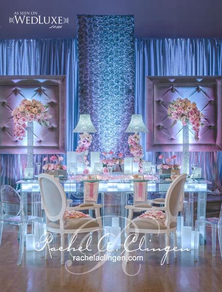 Rachel a clingen headtables17 wedding decor toronto for Office design events
