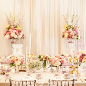Soft and elegant Toronto Wedding Head Table