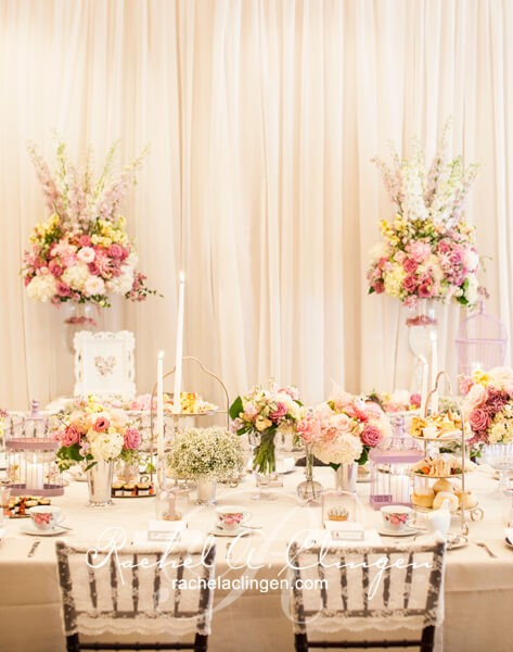 Soft And Elegant Toronto Wedding Head Table Wedding