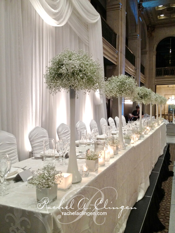 Head Tables - Wedding Decor Toronto Rachel A. Clingen ...