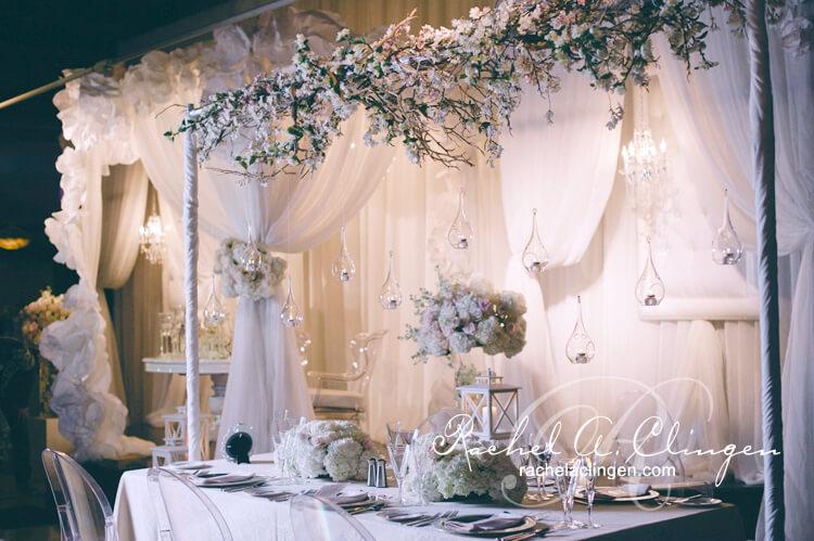 Head Table Floral Canopy By Rachel A Clingen Toronto