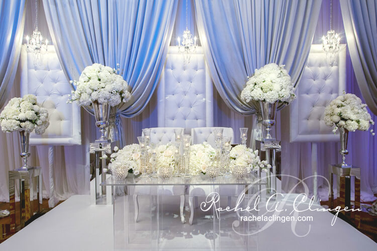 Rachel Clingen Design,  Head Table decor
