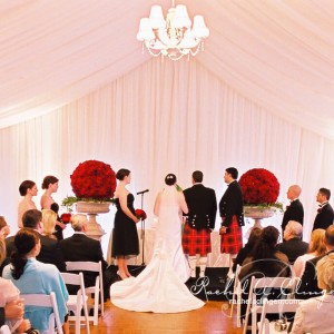 Complete wedding tent draping and coverage Toronto