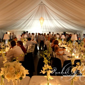 Toronto wedding tent flowers