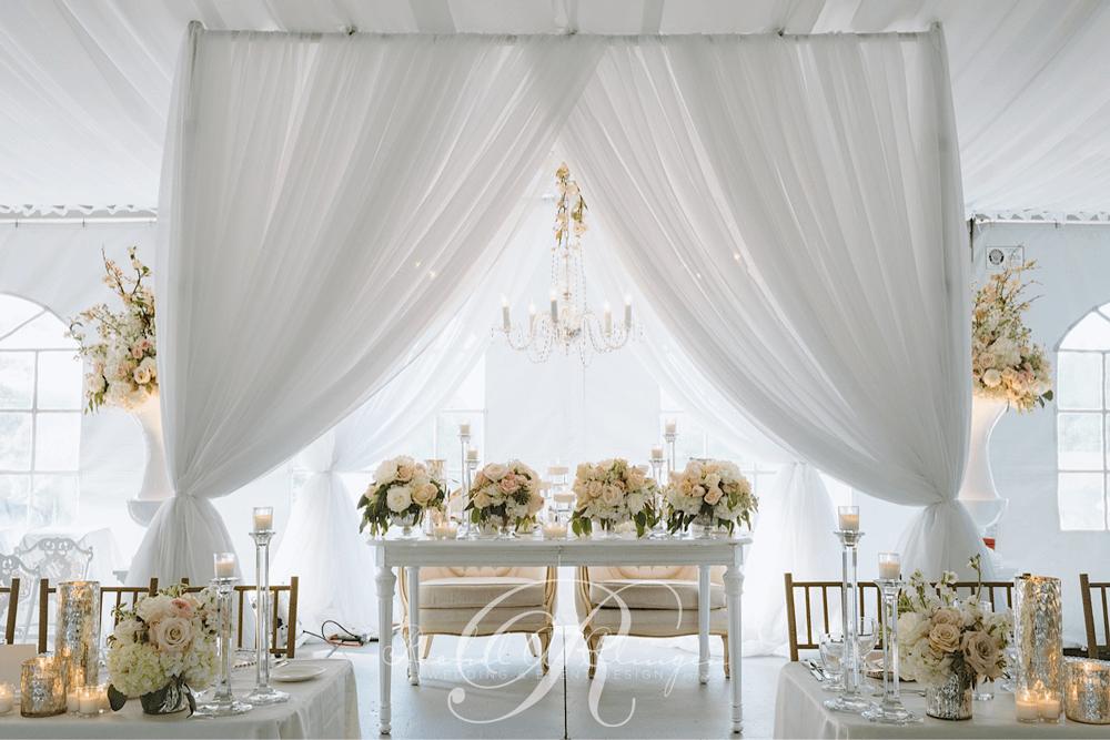 Head Tables Wedding Decor Toronto Rachel A Clingen Wedding Amp Event Design