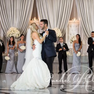 Wedding backdrop at Toronto's Embassy Grand by Rachel A. Clingen Wedding Design and Decor