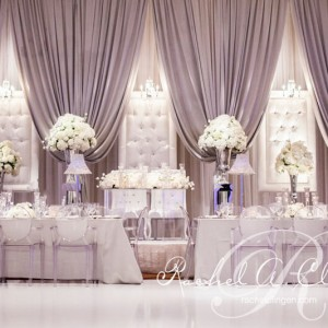 Embassy Grand Wedding Backdrop by Rachel A. Clingen Toronto