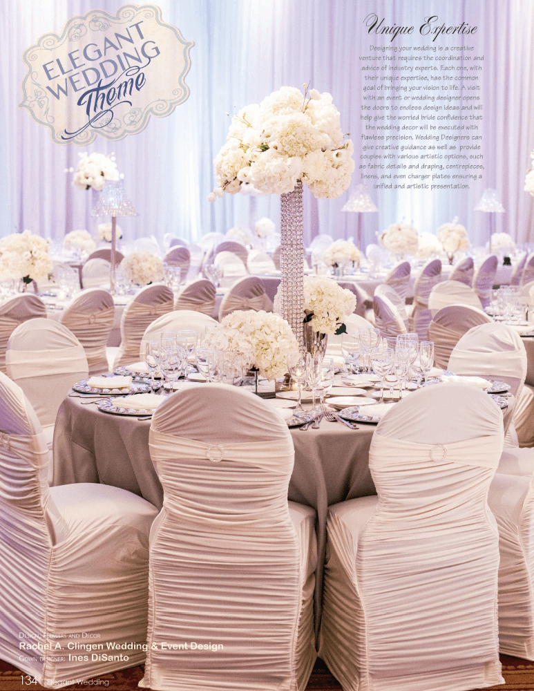 Elegant wedding at the Embassy Grand Toronto by Rachel A. Clingen Wedding Design & Flowers
