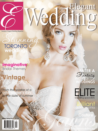 Elegant Wedding – Winter/Spring 2013