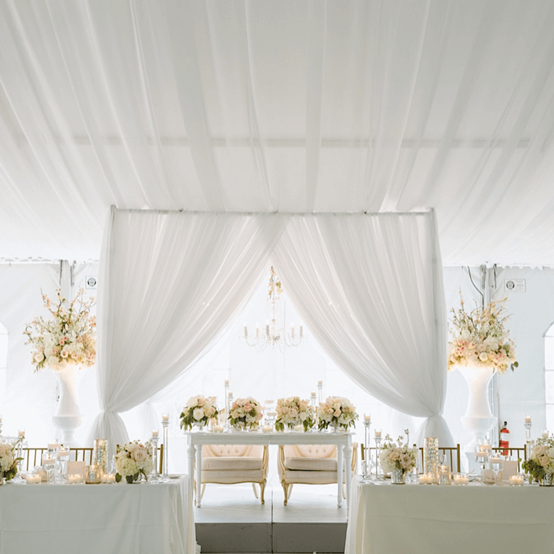 Luxurious Wedding Draping by Eventure Designs - Rachel's Friends