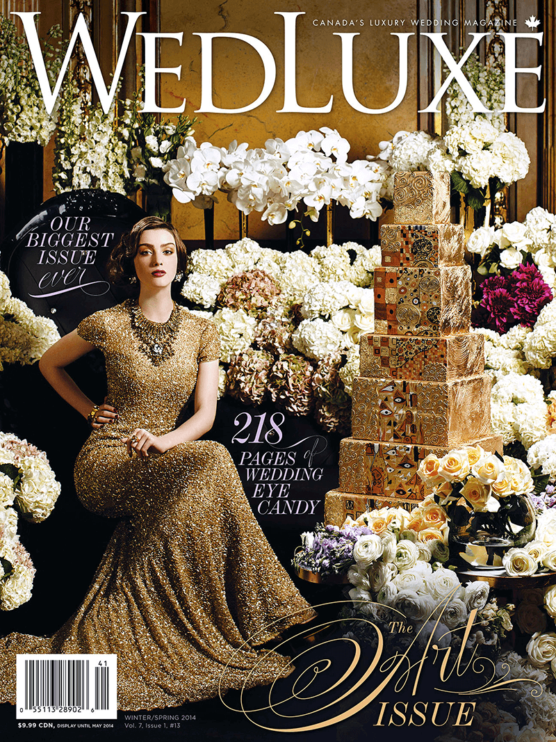 WedLuxe – Winter/Spring 2014
