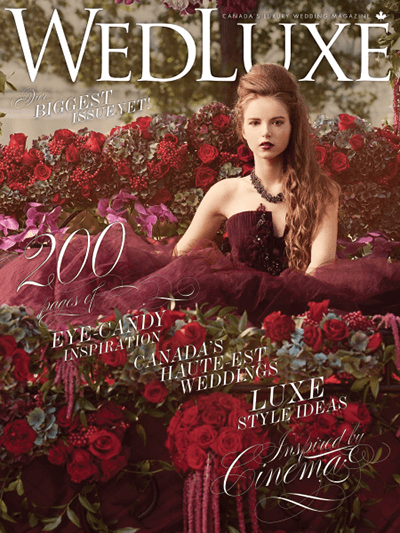 WedLuxe – Winter/Spring 2013