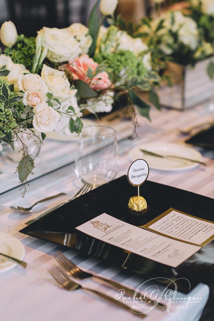 A Beautiful Black And White Wedding At Maclaren Art Gallery Wedding Decor Toronto Rachel A