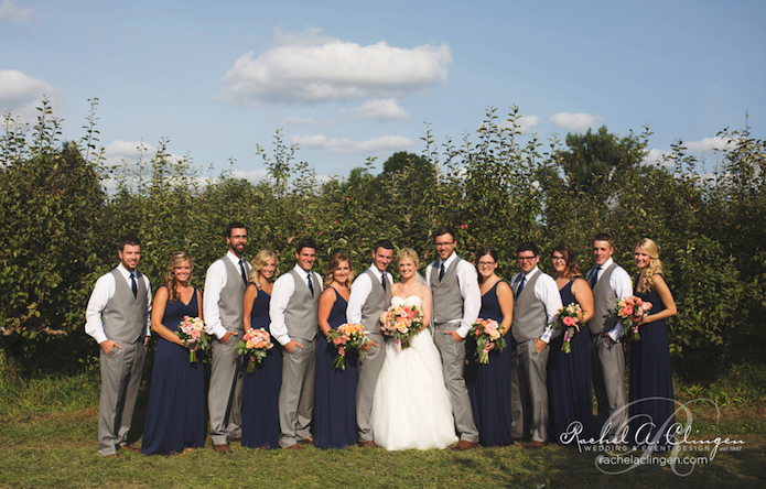 Bridal-Party-Apple-Orchard