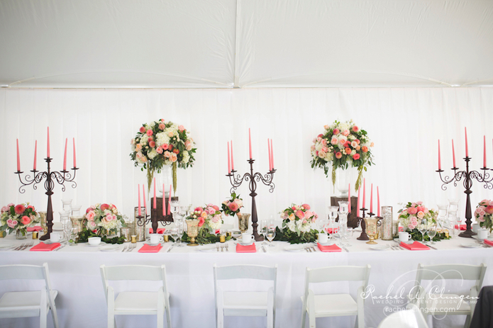 Coral-Peach-Pink-Tent-Wedding