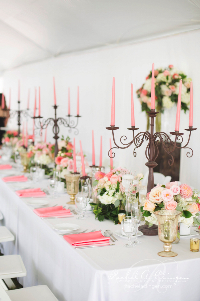 Rustic-Coral-Pink-Flowers-Decor-Weddings
