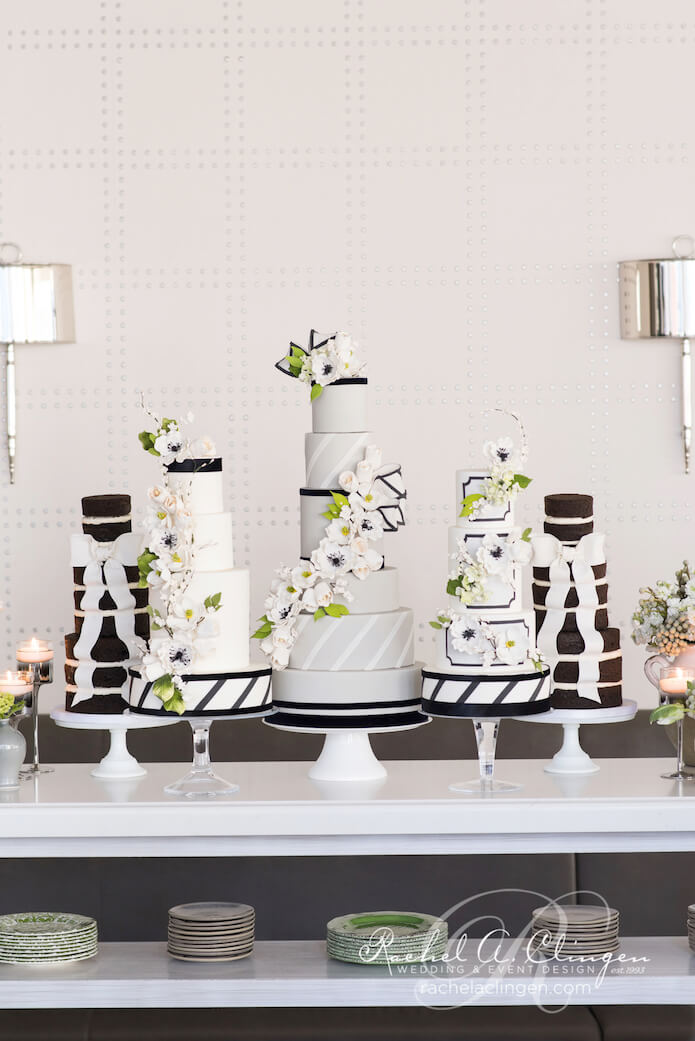 Navy-Green-White-Wedding-Cakes-Toronto