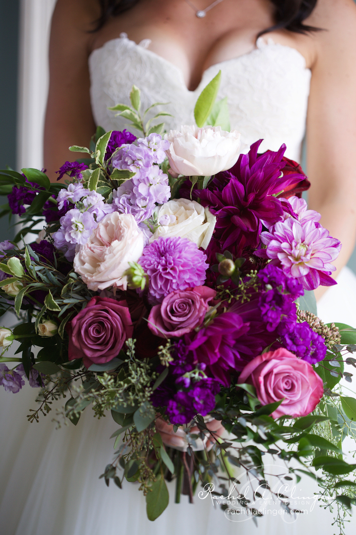Purple-Pink-Bridal-Flowers
