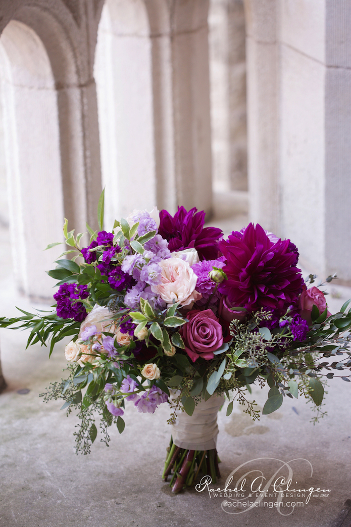Purple-Wedding-Flowers-Toronto