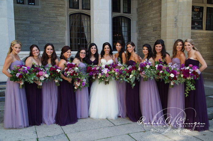 Purple-Weddings-Flowers-Bouquets-Toronto